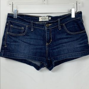 Abercrombie & Fitch size 6 blue jean shorts